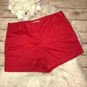 Vineyard Vines Classic Red Twill Shorts